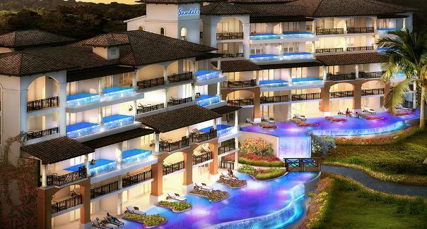 Grenada - Sky Pool Suites -Sandals