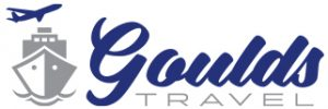 Logo with Ship- Goulds Travel